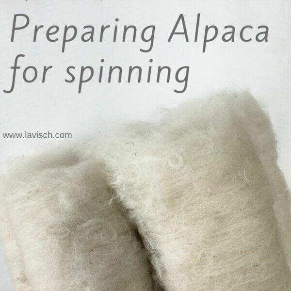 tutorial - preparing alpaca for spinning