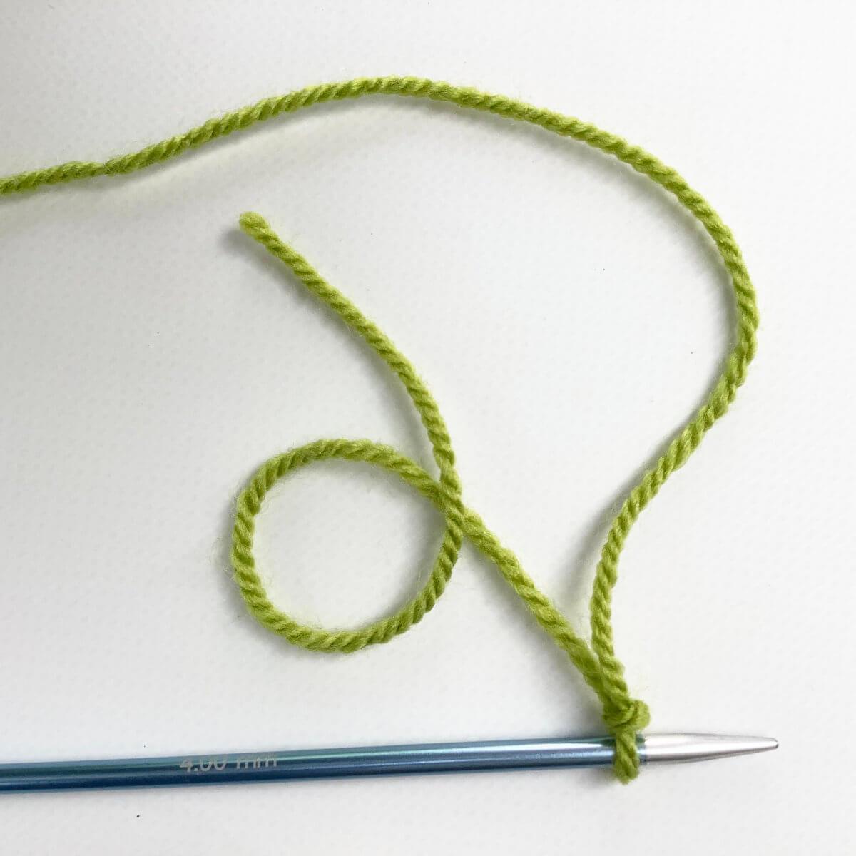 making a slipknot