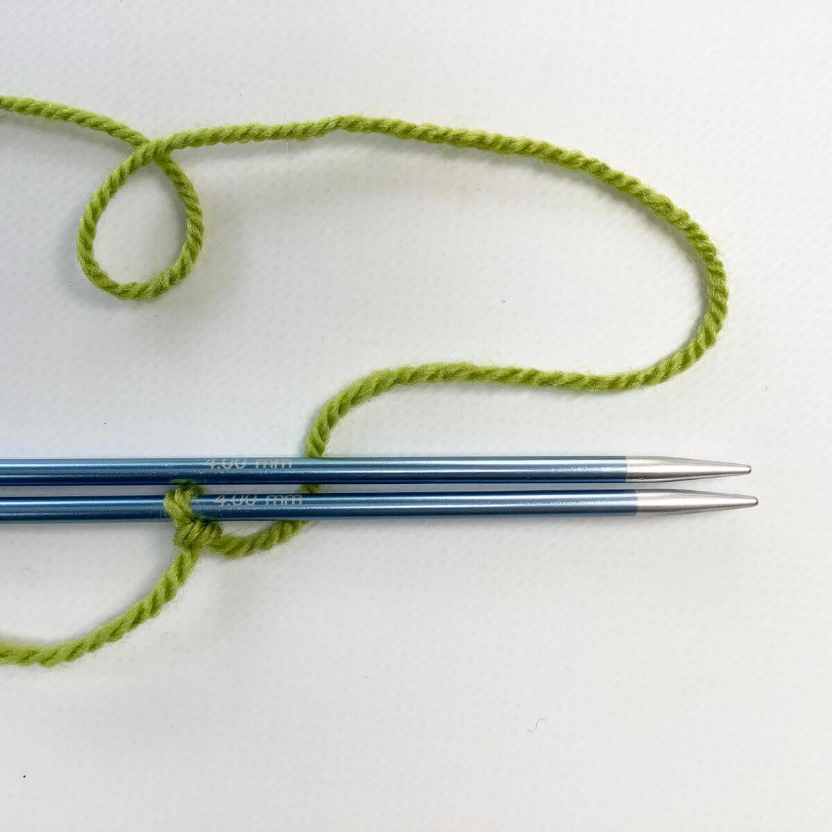 Arrange the needles